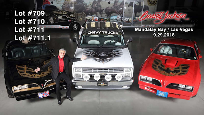 Burt Reynolds' private car collection going up for auction in Las Vegas - Autoblog