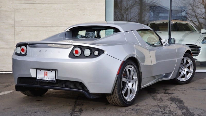 would you pay 1m for this rare tesla roadster prototype. Black Bedroom Furniture Sets. Home Design Ideas