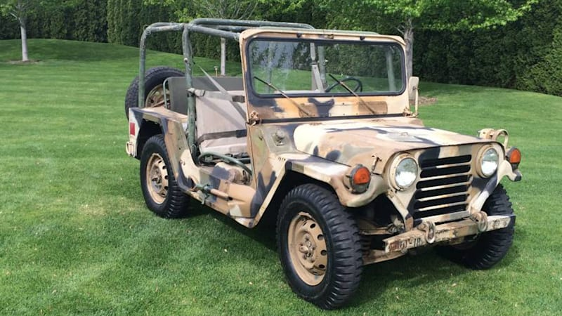 Ford M151A2 MUTT is an uncommon vintage military off-roader