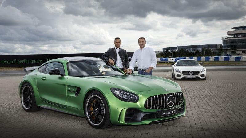 552929fa052 Lewis Hamilton wants to help develop a Mercedes-AMG GT LH - Autoblog