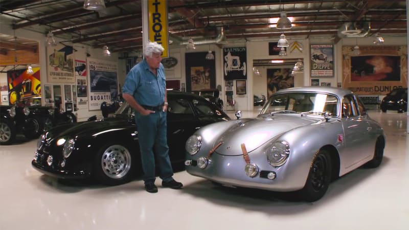 Jay Leno Welcomes Emorys Outlaw Porsche 356s Autoblog