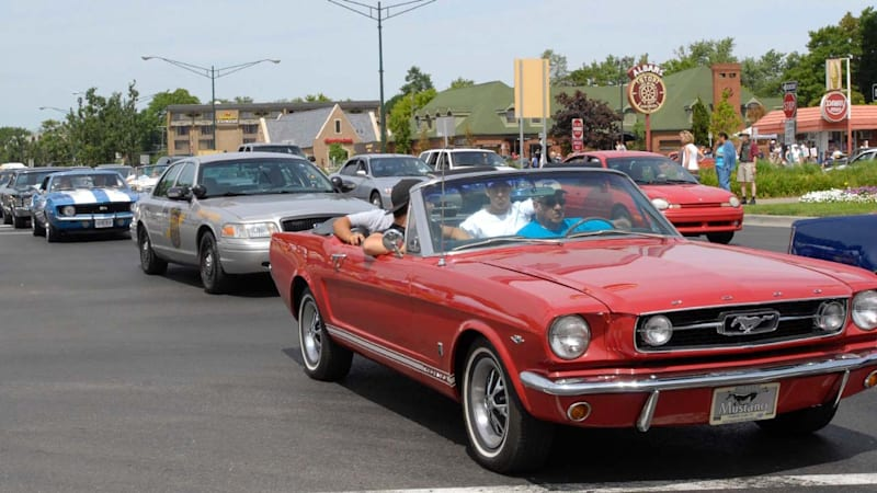 Ford to sponsor 2017 Woodward Dream Cruise