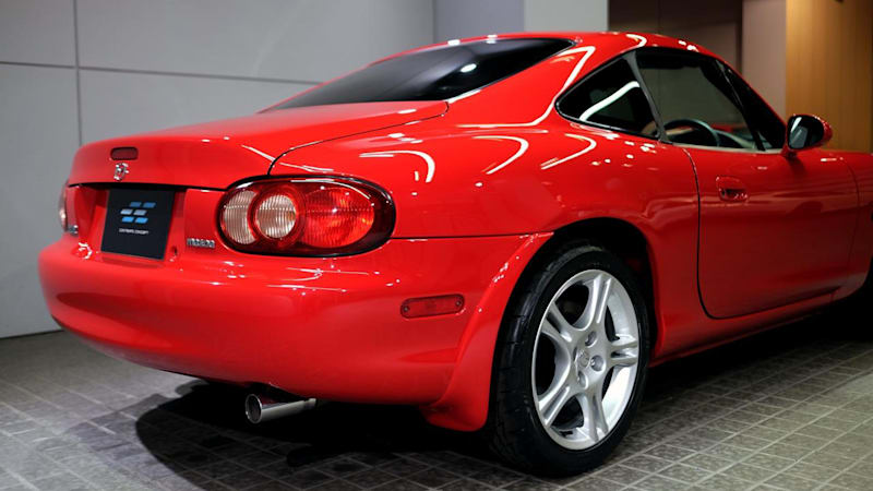 A super rare Miata coupe comes up for sale in Hong Kong