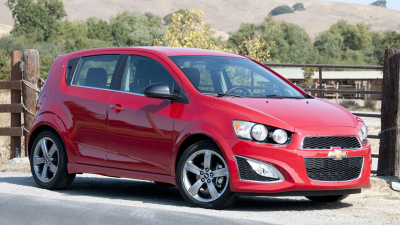 Chevy recalls 317k Sonic, Trax, and Spark over key chime | Autoblog