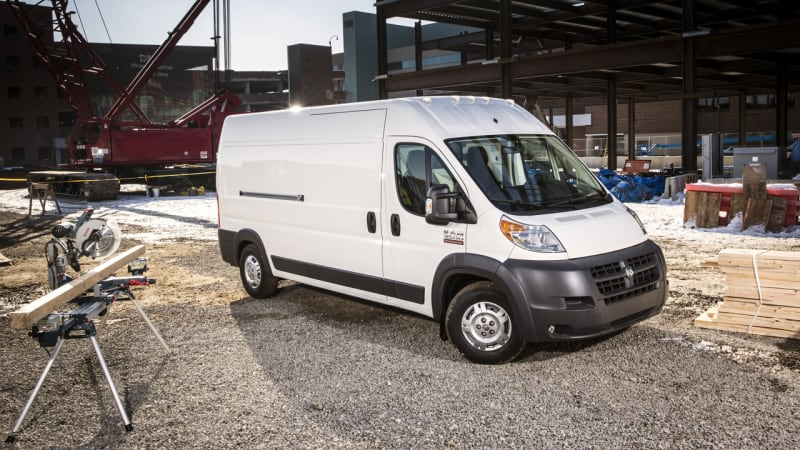 2015 ram promaster recalled for ignition switch issue autoblog