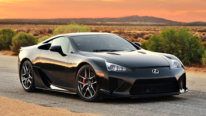 If You Missed Out On Getting A Lexus Lfa When It Was New The Time Might Be Near To Start Looking For Less Expensive Used One Listings Indicate That