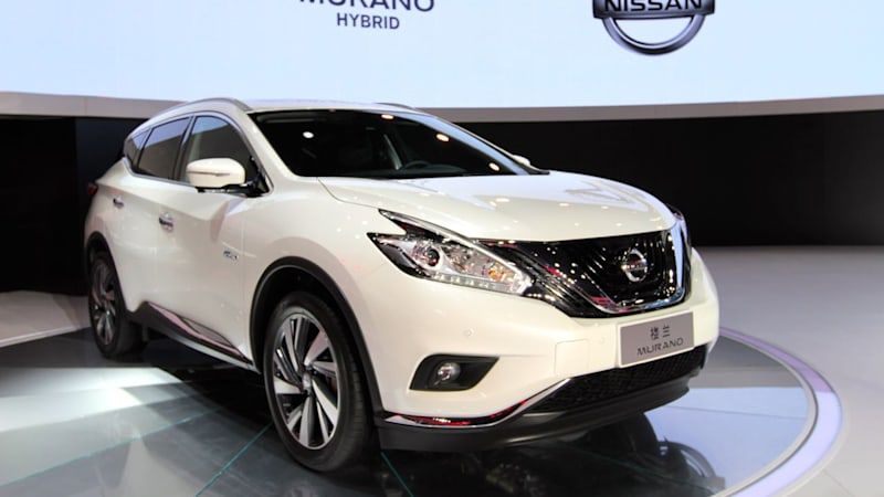 Recharge Wrap Up Nissan Murano Hybrid In China Fca Hearts E15