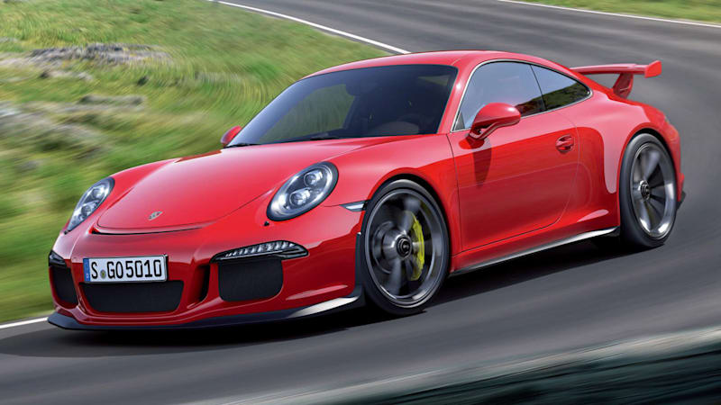 Porsche 911 R might be manual-only with a GT3 engine