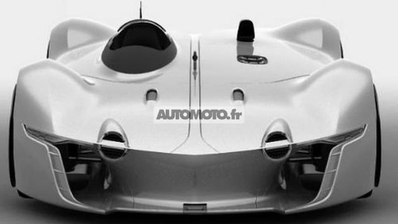 Renault Alpine Vision Gran Turismo Leaks Autoblog