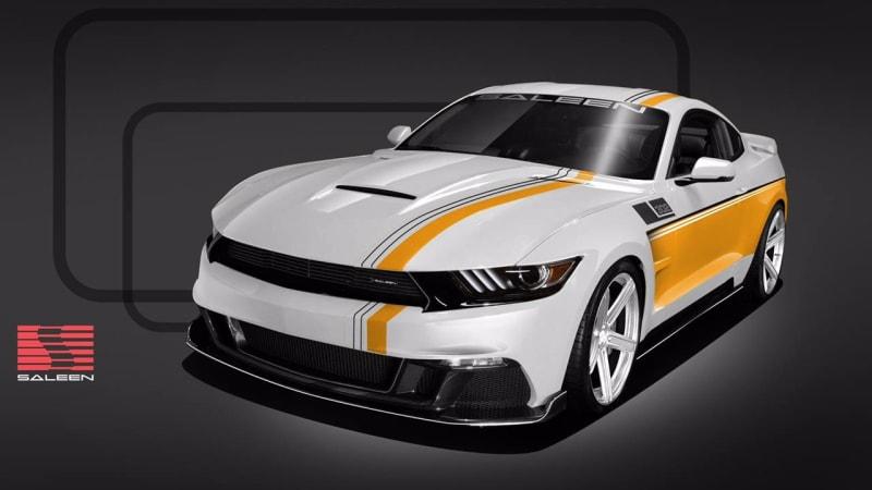 Saleen 30-Year Championship Mustang makes 730 horsepower - Autoblog