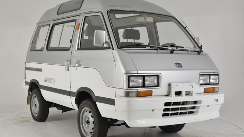 1992 Subaru Libero Japanese Van On Ebay Motors Autoblog
