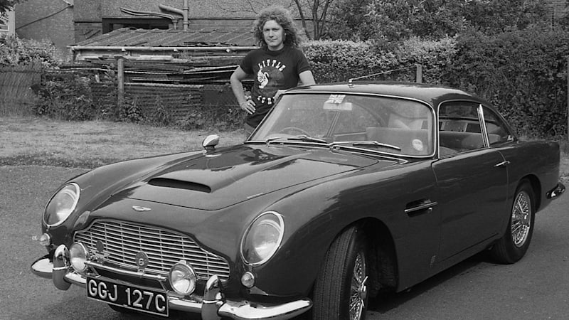 Robert Plant's 1965 Aston Martin DB5 is for sale