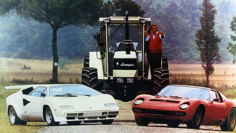 Ferruccio Lamborghini S Life To Be Chronicled In New Film Autoblog