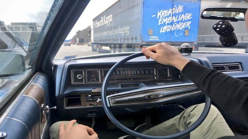 Driving a 1972 Ford station wagon from Berlin to a Finnish ice-racing course
