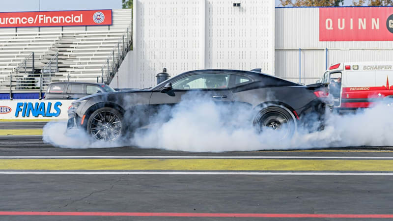 Watch a Camaro ZL1 hit 180 mph - with two gears to spare ...