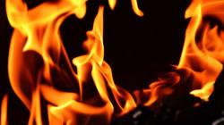 El incendio que arrasó