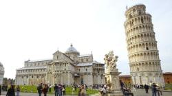 La Torre de Pisa está cada vez menos