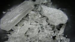 Ni marihuana ni cocaína, el crystal es el principal objetivo del gobierno