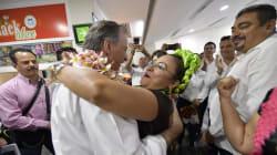 Maestros de la CNTE y priistas se enfrentan durante evento de Meade; él acusa a