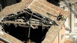 Chiesa crollata, il pm di Roma indaga per disastro
