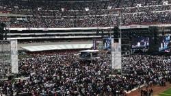 Cuando el futbol le dio paso a la política en el Azteca