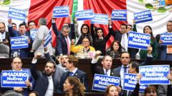 Legisladores del PAN protestan en San Lázaro por invitación a