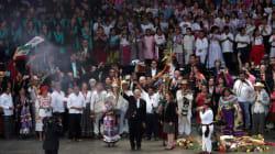 FOTOS: Entregan Bastón de Mando al presidente López