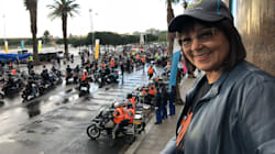 Mayor De Lille Joins Bikers In CT To Raise Money For Young Female