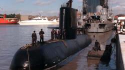 Hallan restos de submarino argentino a un año de su