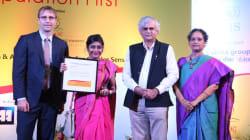 Adrija Bose Wins Laadli Award For Three 'HuffPost India'