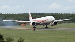 新政府専用機が日本到着。ジャンボジェットから777にバトンタッチへ