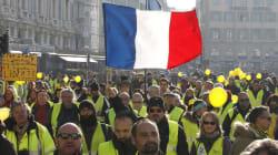 """""""Chalecos amarillos"""" inician el año con enfrentamientos violentos en"""