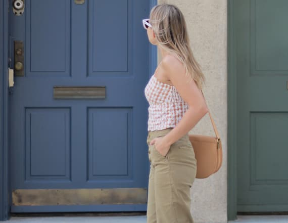 Street style tip of the day: Wide leg cropped pants