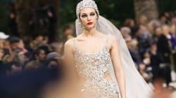 La dernière mariée Chanel rend hommage à Karl