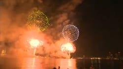 Pour le 4 juillet à Los Angeles, la féerie de centaines de feux d'artifice vus du