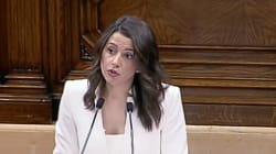 El reproche feminista de Inés Arrimadas a Quim