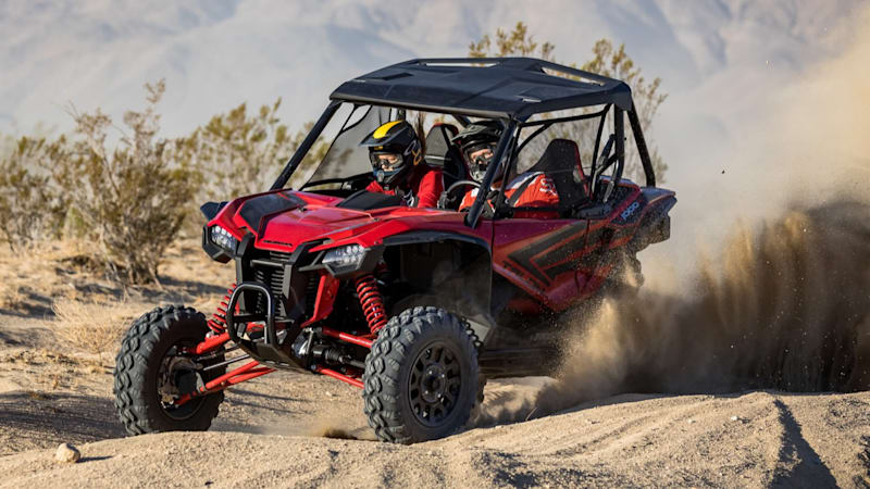 2019 Honda Talon 1000R and 1000X First Drive Review