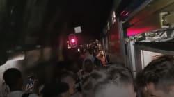 Les images des usagers du RER A, évacués directement sur les voies après une