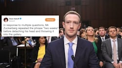 Mark Zuckerberg's Senate Testimony Predictably Led To Memes
