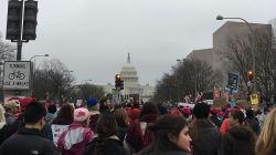 """""""Somos la mayoría"""": la marcha de las mujeres en Washington"""