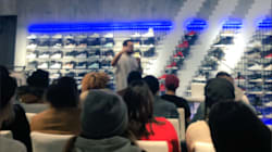 Adidas: le gérant parle français... pour accommoder les médias et