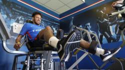 Neymar de retour à l'entraînement avec le