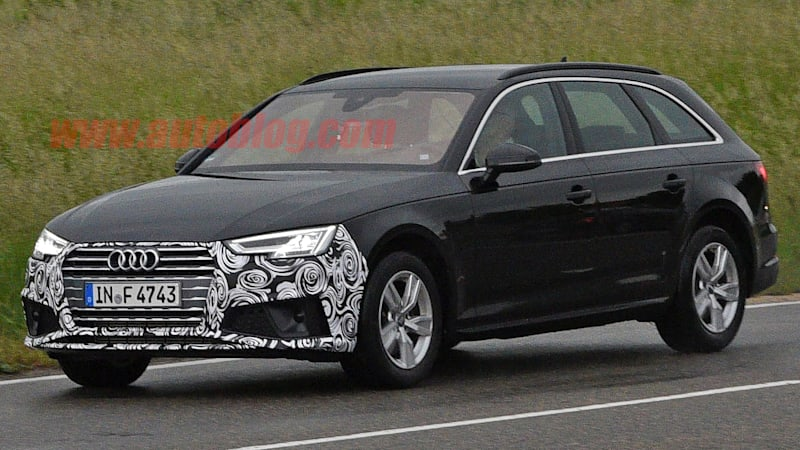 2019 Audi A4 will get a mild refresh up front