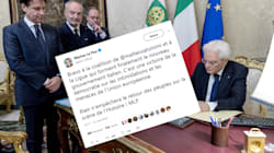 Le Pen se réjouit du gouvernement populiste en Italie, une