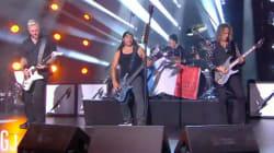 Metallica a réveillé Le Grand Journal avec son