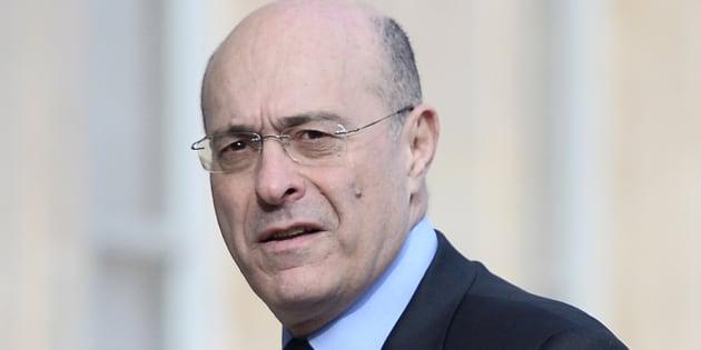 Le directeur général de la police nationale Jean-Marc Falcone à l'Élysée le 12 avril 2016.