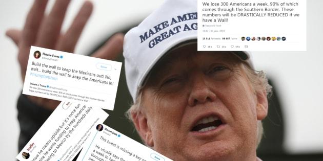 Trump a oublié un mot dans ce tweet... et ça change tout