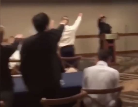 School condemns video of students giving Nazi salute