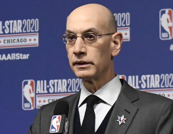 Adam Silver provides sobering update on NBA season
