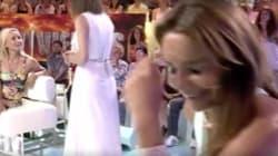 El feo gesto de Leticia Sabater con Sandra Barneda tras ser expulsada del plató de